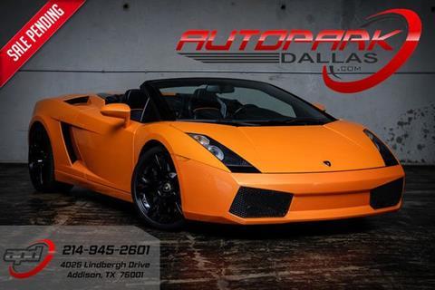2006 Lamborghini Gallardo for sale in Addison, TX
