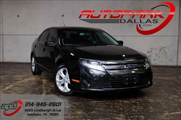 2012 Ford Fusion for sale in Addison, TX