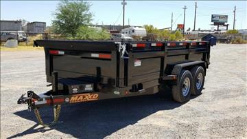 2016 Maxey DMX 8314 DUMP W/ POWER UP AND  for sale in Mesa, AZ