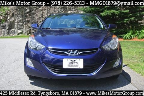 2013 Hyundai Elantra for sale in Tyngsboro, MA