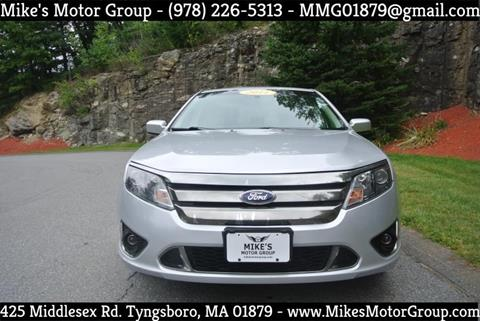 2011 Ford Fusion for sale in Tyngsboro, MA