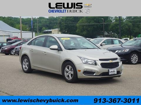 2016 Chevrolet Cruze Limited for sale in Atchison KS