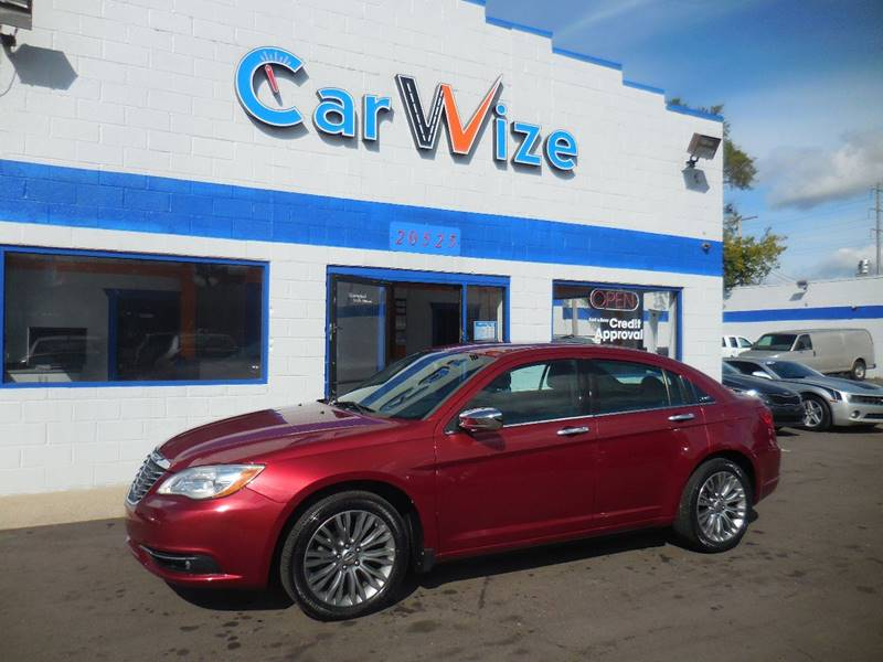 2011 Chrysler 200 car for sale in Detroit
