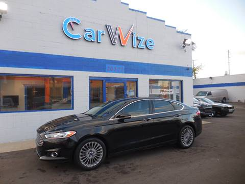 2013 Ford Fusion for sale in Detroit, MI