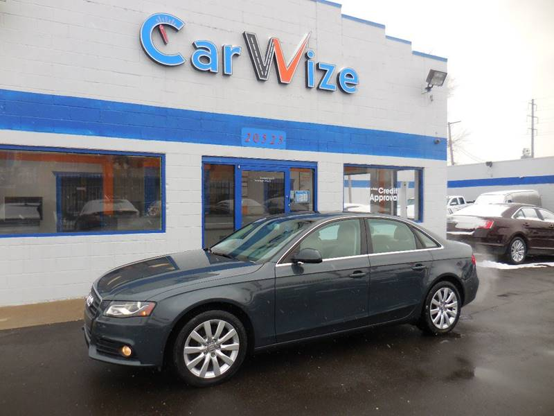 2011 Audi A4 car for sale in Detroit