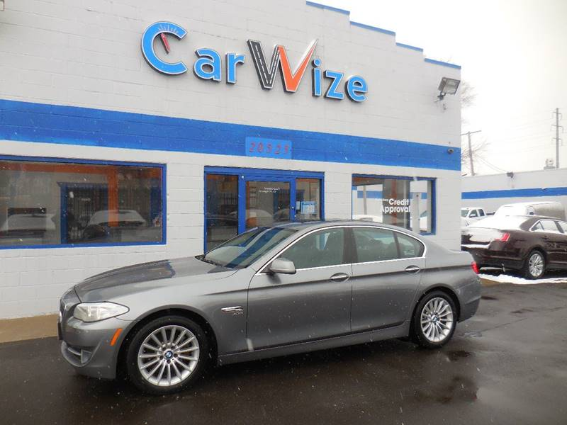 2011 Bmw 5 Series car for sale in Detroit