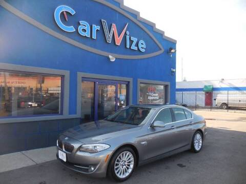2011 BMW 5 Series for sale at Carwize in Detroit MI