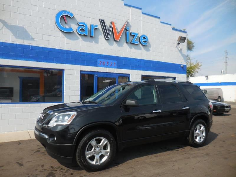 2012 Gmc Acadia car for sale in Detroit