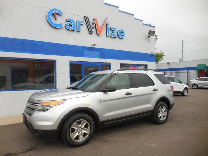 2012 Ford Explorer car for sale in Detroit