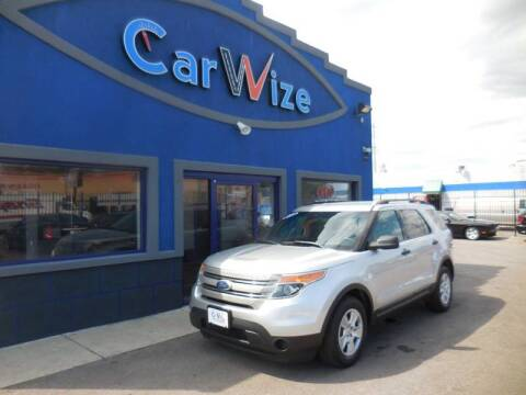 2012 Ford Explorer for sale at Carwize in Detroit MI