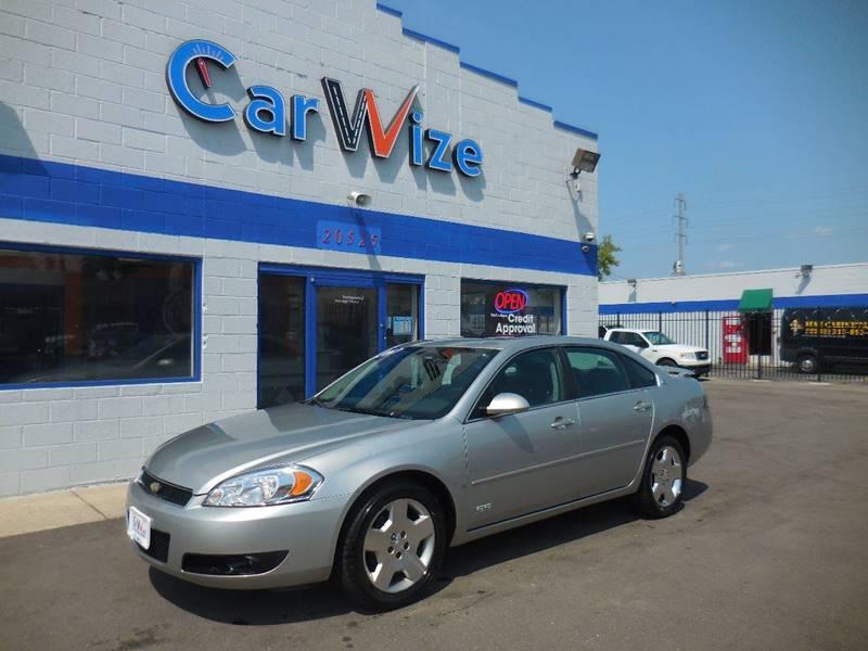 2006 Chevrolet Impala For Sale At Carwize In Detroit MI