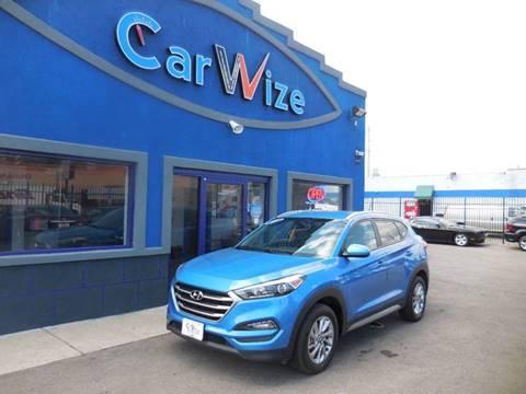 2017 Hyundai Tucson for sale at Carwize in Detroit MI