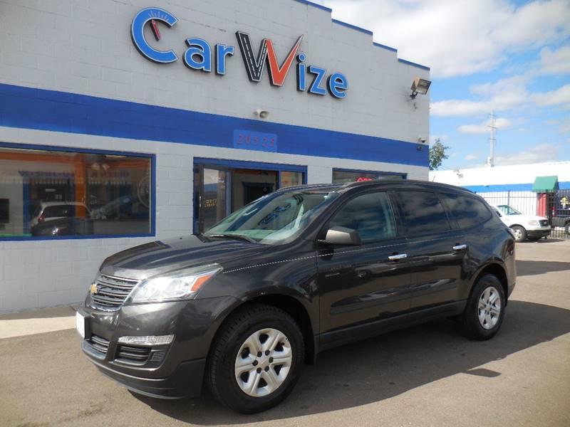 2013 Chevrolet Traverse car for sale in Detroit