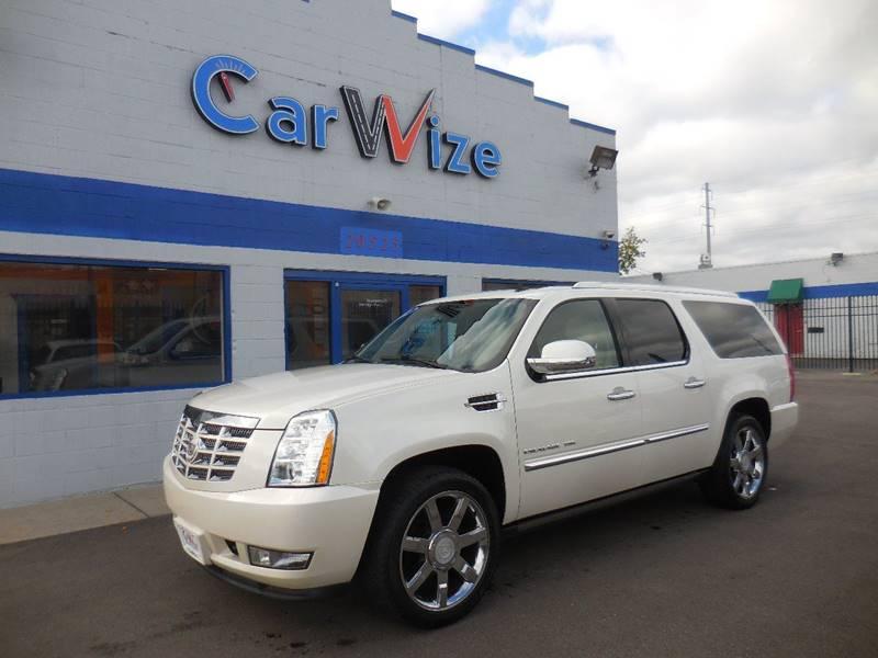 2011 Cadillac Escalade Esv car for sale in Detroit
