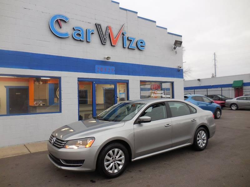 2013 Volkswagen Passat car for sale in Detroit