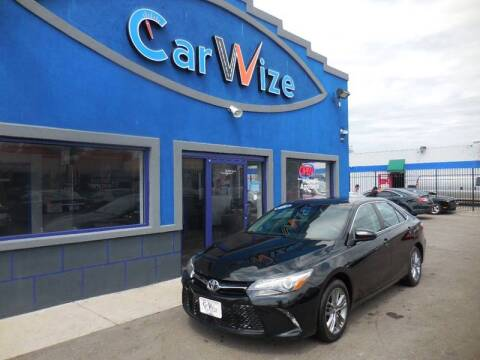 2015 Toyota Camry for sale at Carwize in Detroit MI