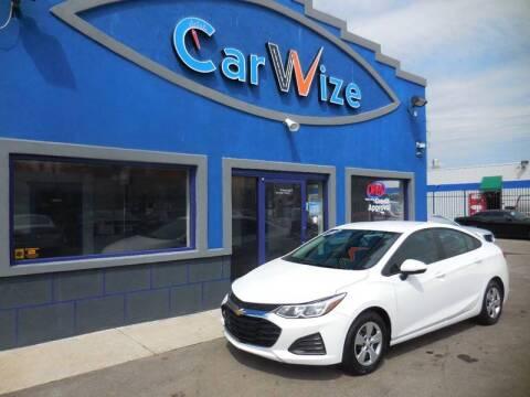2019 Chevrolet Cruze for sale at Carwize in Detroit MI