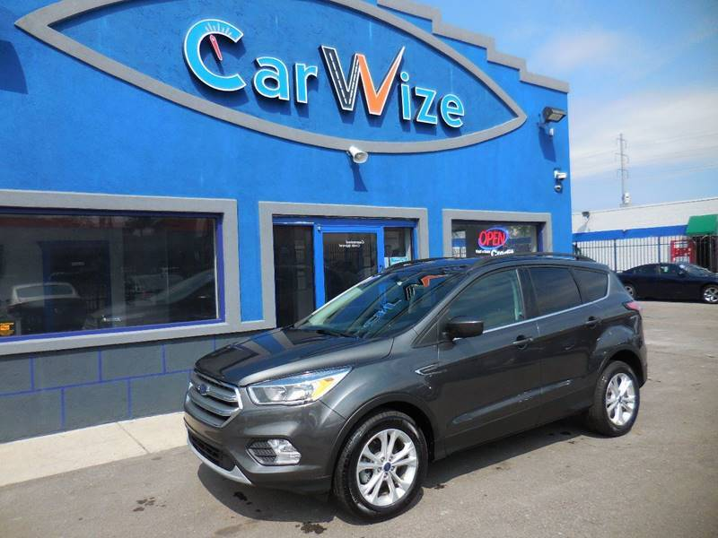 2017 Ford Escape for sale at Carwize in Detroit MI