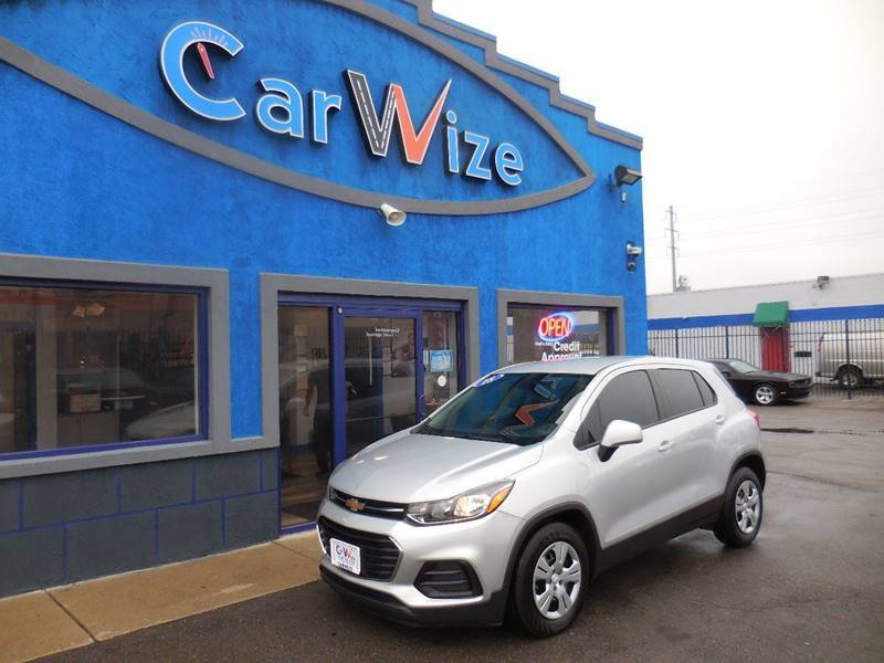 2018 Chevrolet Trax for sale at Carwize in Detroit MI