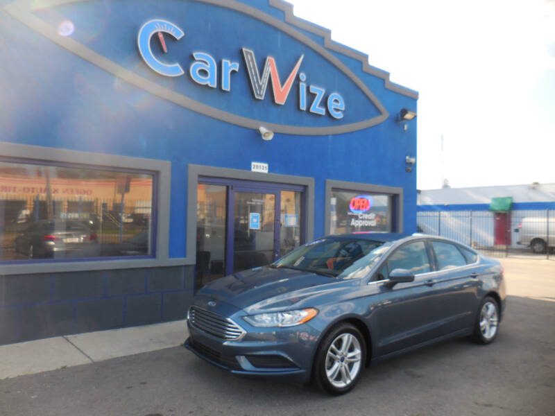 2018 Ford Fusion for sale at Carwize in Detroit MI