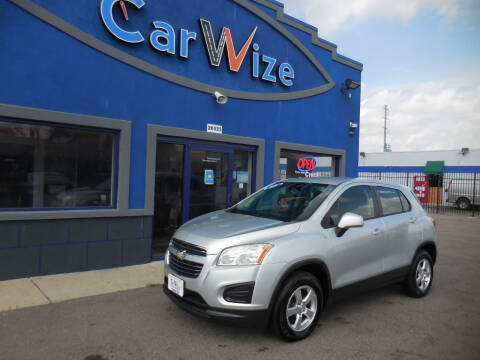 2015 Chevrolet Trax for sale at Carwize in Detroit MI