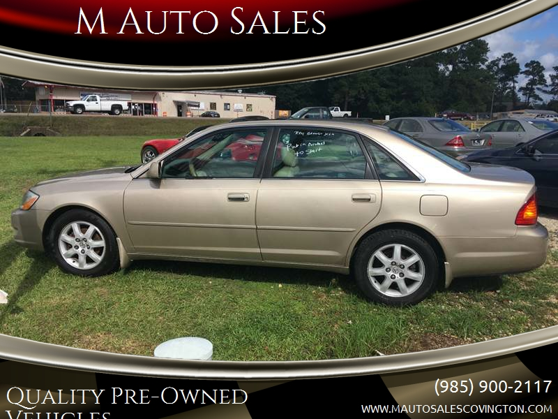 2002 Toyota Avalon For Sale At M Auto Sales In Covington LA