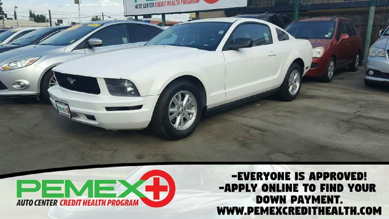 2006 Ford Mustang for sale at Pemex Auto Center in Fresno CA & 2006 Ford Mustang V6 Deluxe In Fresno CA - Pemex Auto Center markmcfarlin.com