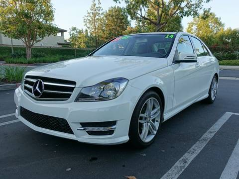 2014 Mercedes-Benz C-Class for sale at ASAL AUTOSPORTS in Corona CA