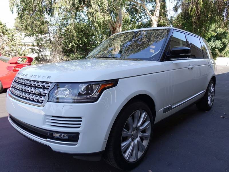 2014 Land Rover Range Rover for sale at ASAL AUTOSPORTS in Corona CA