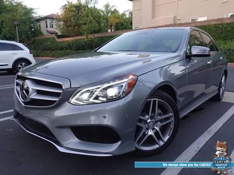 2014 Mercedes-Benz E-Class for sale at ASAL AUTOSPORTS in Corona CA