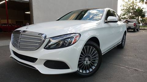 2015 Mercedes-Benz C-Class for sale at ASAL AUTOSPORTS in Corona CA