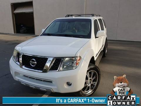 2011 Nissan Pathfinder for sale at ASAL AUTOSPORTS in Corona CA