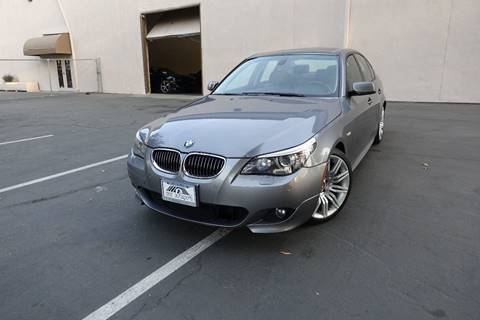 2009 BMW 5 Series for sale at ASAL AUTOSPORTS in Corona CA