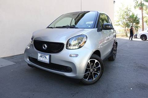2016 Smart fortwo for sale at ASAL AUTOSPORTS in Corona CA