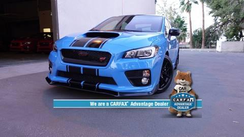 2016 Subaru WRX for sale at ASAL AUTOSPORTS in Corona CA