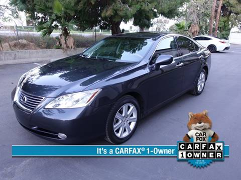 2007 Lexus ES 350 for sale at ASAL AUTOSPORTS in Corona CA
