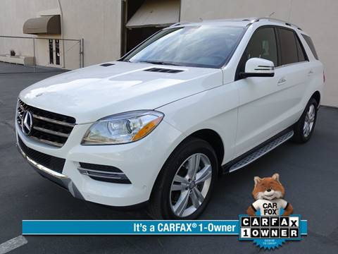 2015 Mercedes-Benz M-Class for sale at ASAL AUTOSPORTS in Corona CA