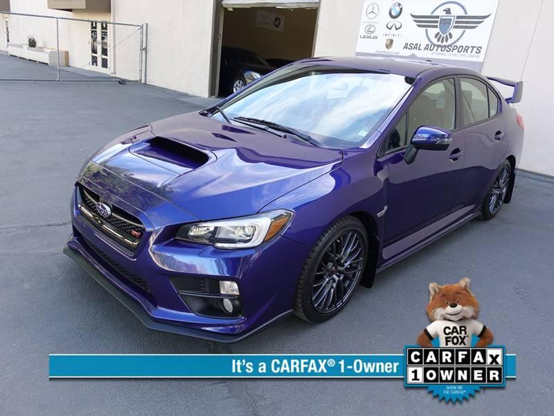 2016 Subaru WRX STI In Corona CA - ASAL AUTOSPORTS
