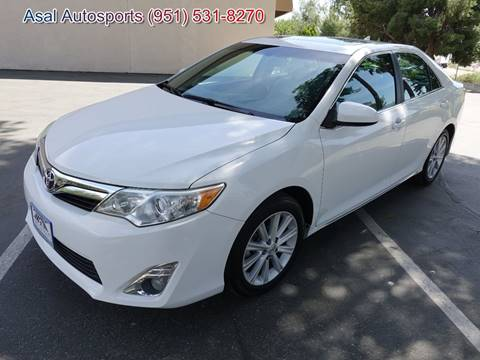 2012 Toyota Camry for sale at ASAL AUTOSPORTS in Corona CA