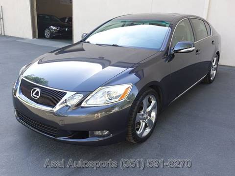 2008 Lexus GS 350 for sale at ASAL AUTOSPORTS in Corona CA
