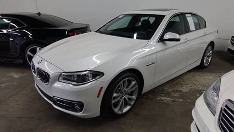 2014 BMW 5 Series for sale at ASAL AUTOSPORTS in Corona CA