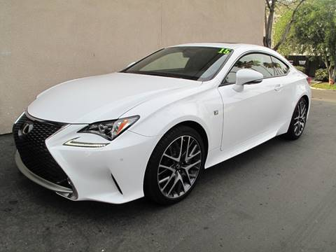 2015 Lexus RC 350 for sale at ASAL AUTOSPORTS in Corona CA