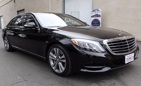 2016 Mercedes-Benz S-Class for sale at ASAL AUTOSPORTS in Corona CA