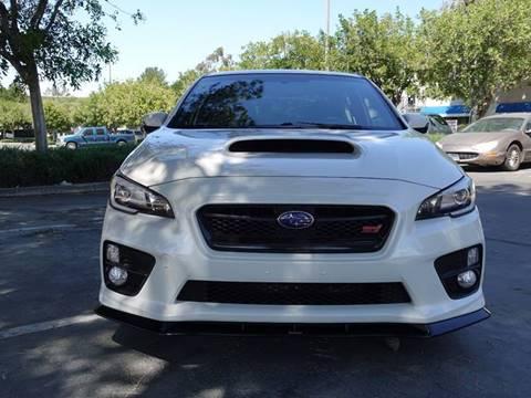 2015 Subaru WRX for sale at ASAL AUTOSPORTS in Corona CA