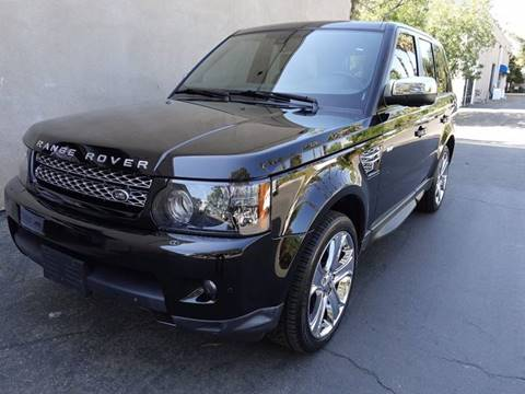 2013 Land Rover Range Rover Sport for sale at ASAL AUTOSPORTS in Corona CA