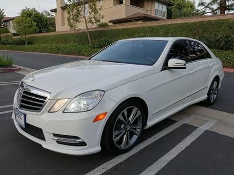 2013 Mercedes-Benz E-Class for sale at ASAL AUTOSPORTS in Corona CA