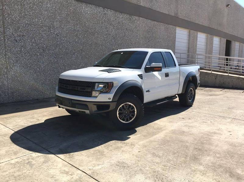 2011 Ford F-150 4x4 SVT Raptor 4dr SuperCab Styleside 5.5 ft. SB - Carrollton TX