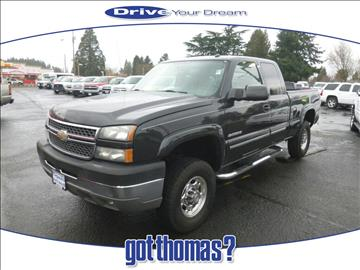 2005 Chevrolet Silverado 2500HD for sale in Hillsboro, OR