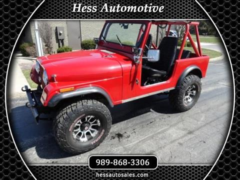 1979 Jeep Wrangler for sale in Reese, MI