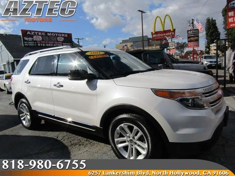 Used 2011 ford explorer for sale in california for Aztec motors north hollywood